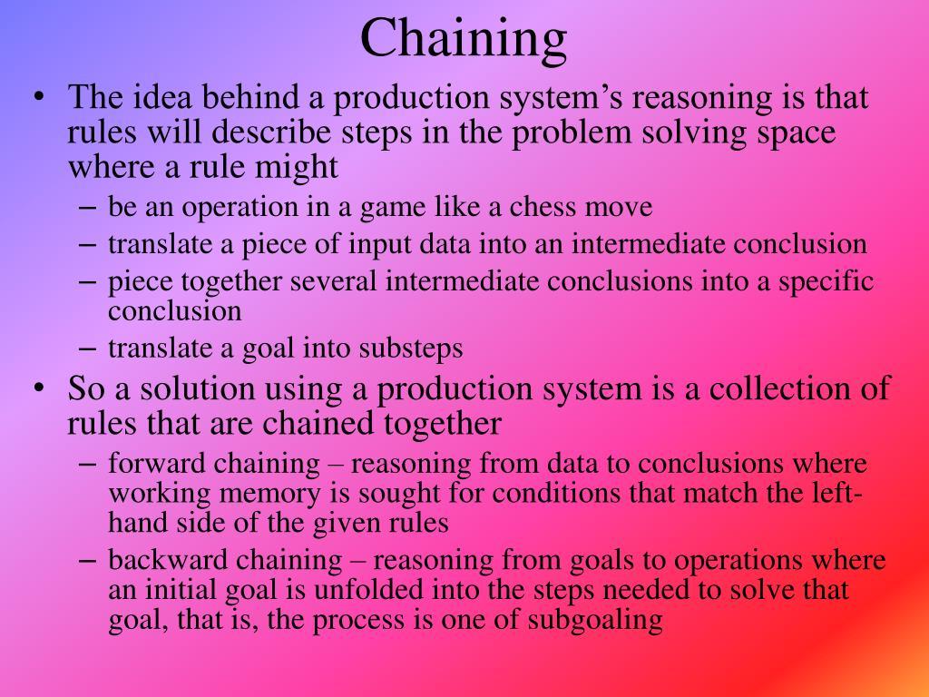 Chaining