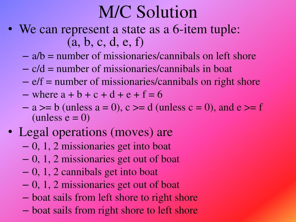 M/C Solution