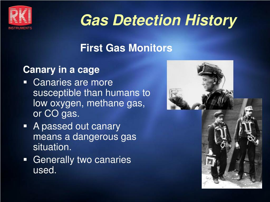 First Gas Monitors