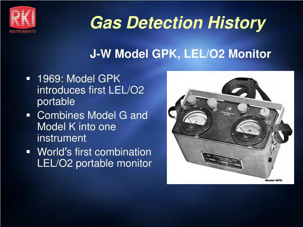 J-W Model GPK, LEL/O2 Monitor