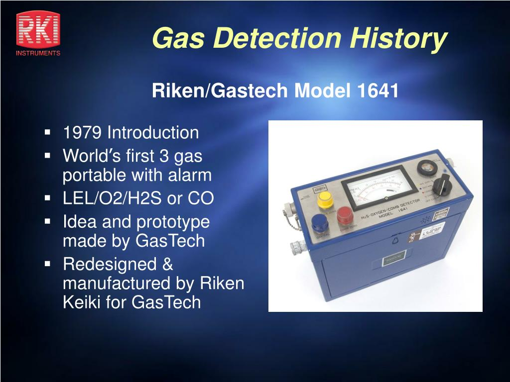 Riken/Gastech Model 1641