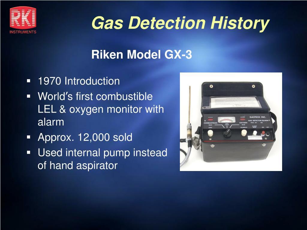 Riken Model GX-3