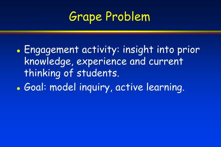 Grape Problem