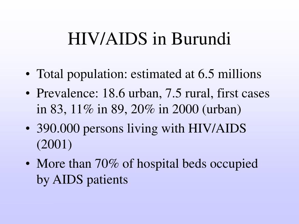 HIV/AIDS in Burundi
