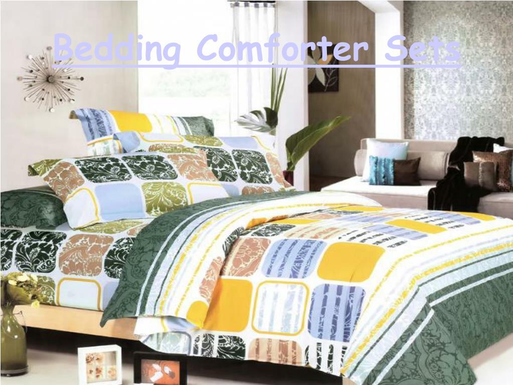 Bedding Comforter Sets
