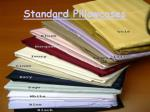 standard pillowcases