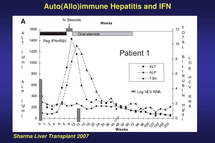 Auto(Allo)immune Hepatitis and IFN