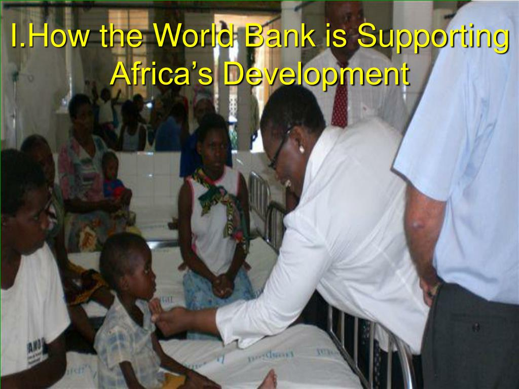 How the World Bank is Supporting Africa's Development