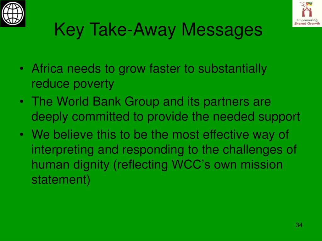 Key Take-Away Messages