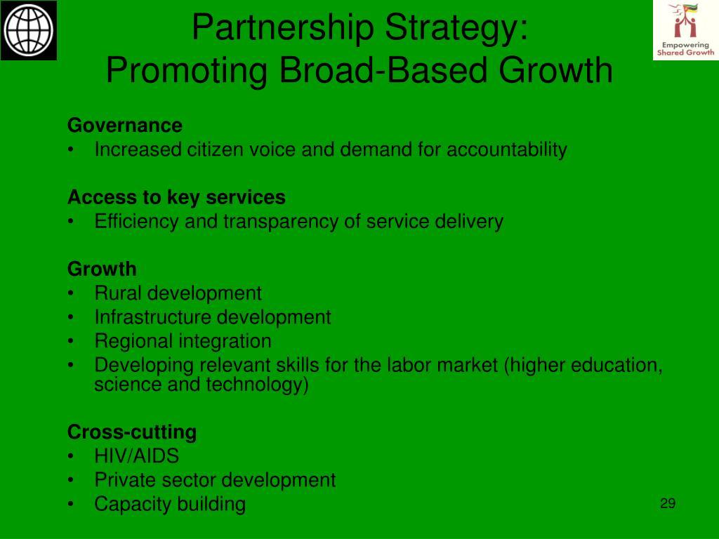 Partnership Strategy: