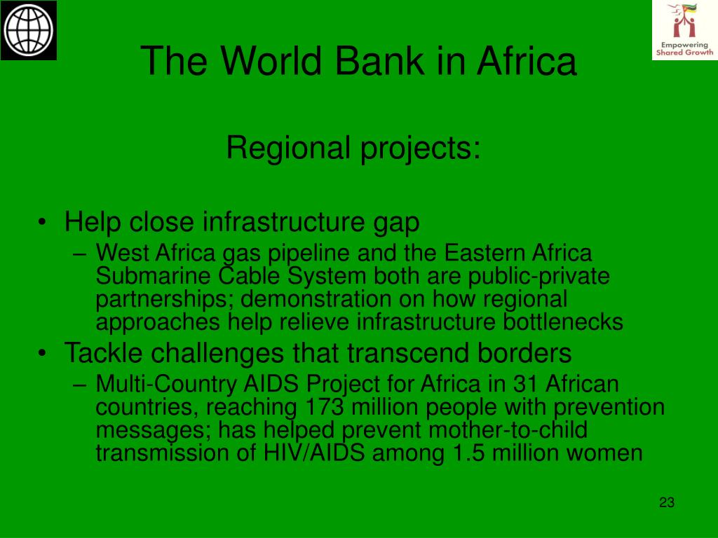 The World Bank in Africa