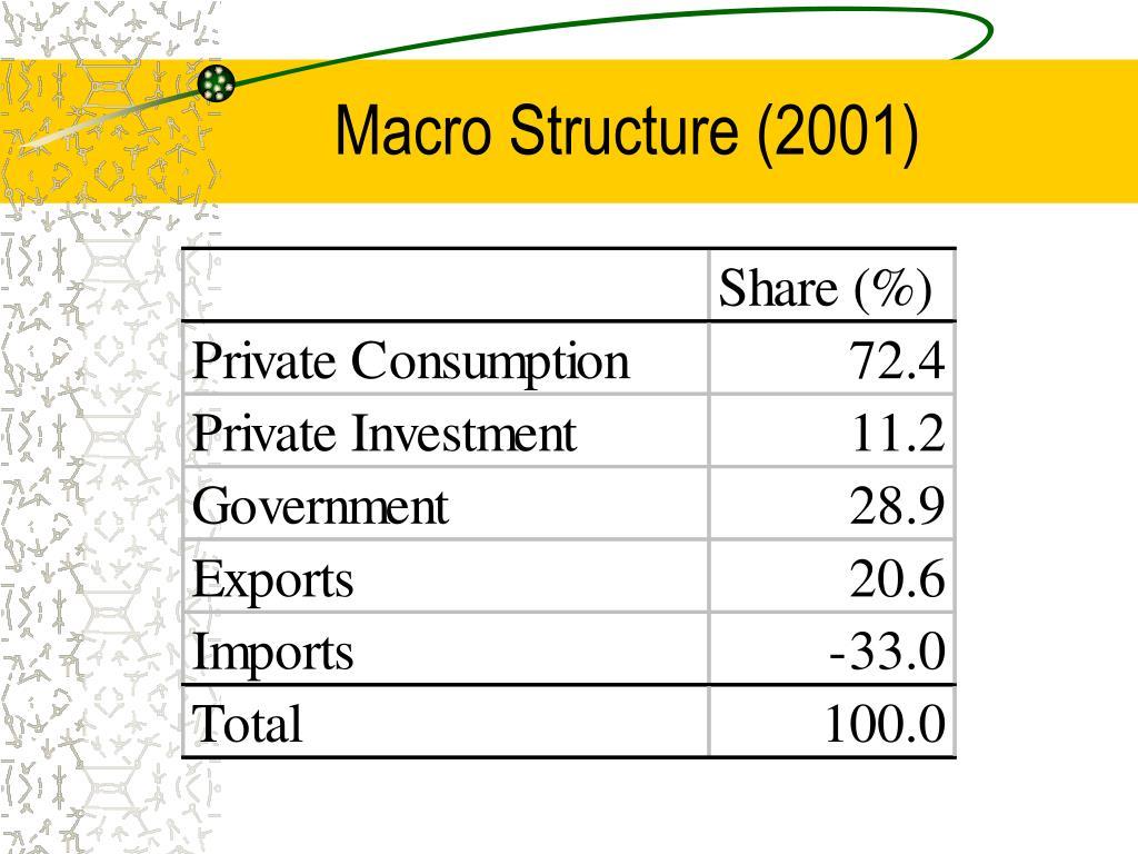 Macro Structure (2001)