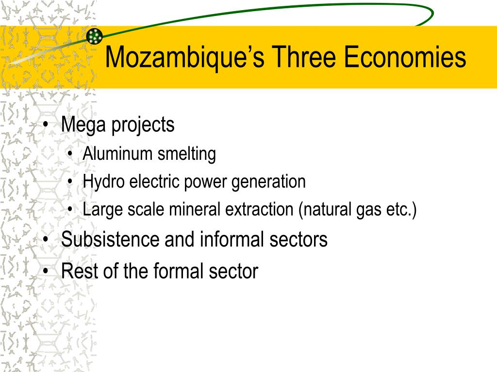Mozambique's Three Economies
