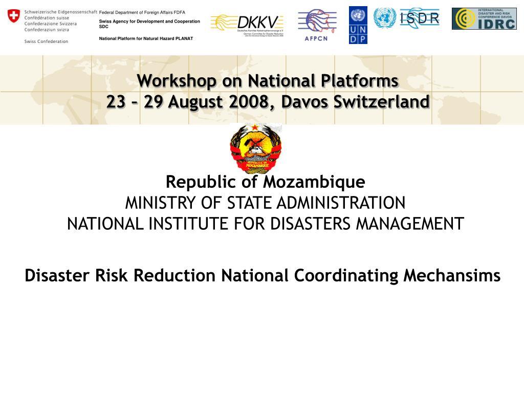 Republic of Mozambique