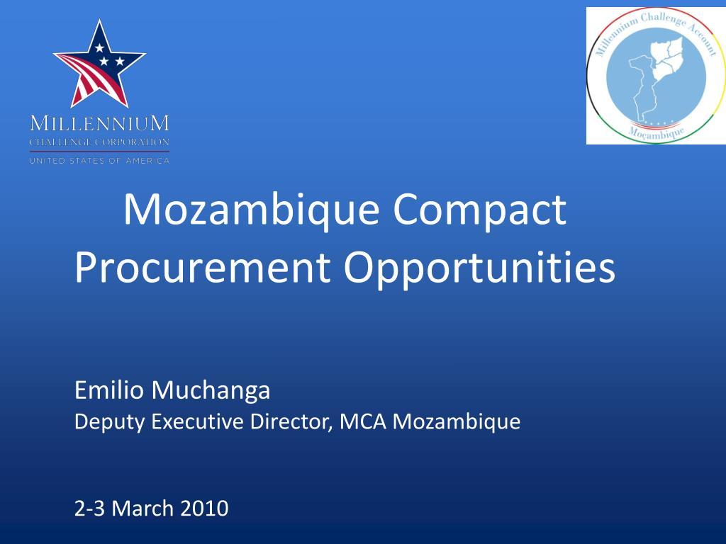 Mozambique Compact