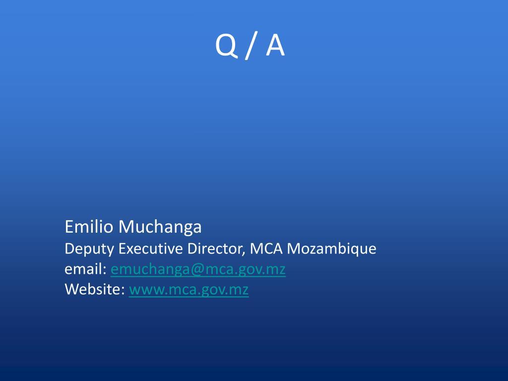 Q / A