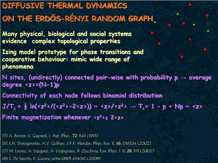 DIFFUSIVE THERMAL DYNAMICS