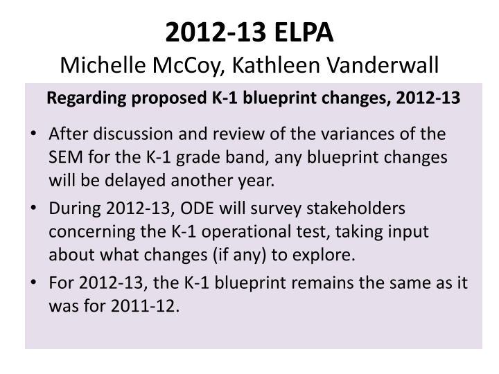 2012-13 ELPA