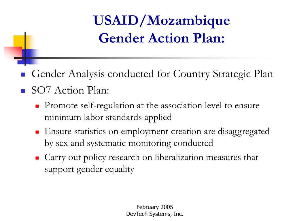 Gender Analysis conducted for Country Strategic Plan