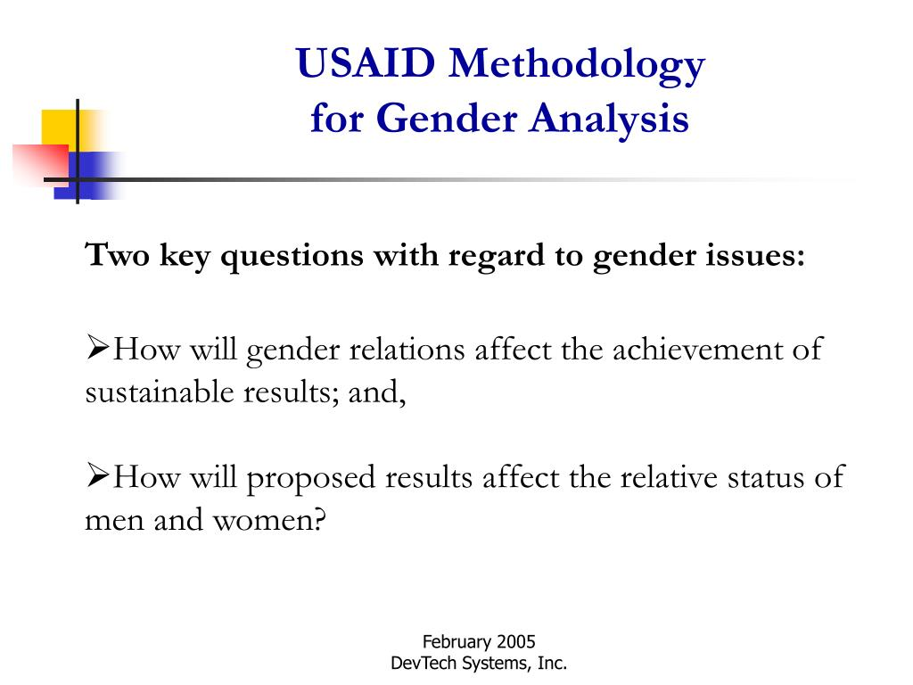 USAID Methodology
