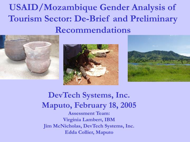 Usaid mozambique gender analysis of tourism sector de brief and preliminary recommendations l.jpg