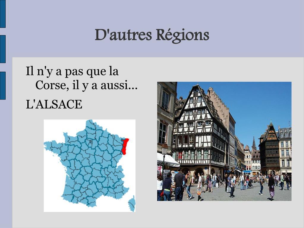 D'autres Régions