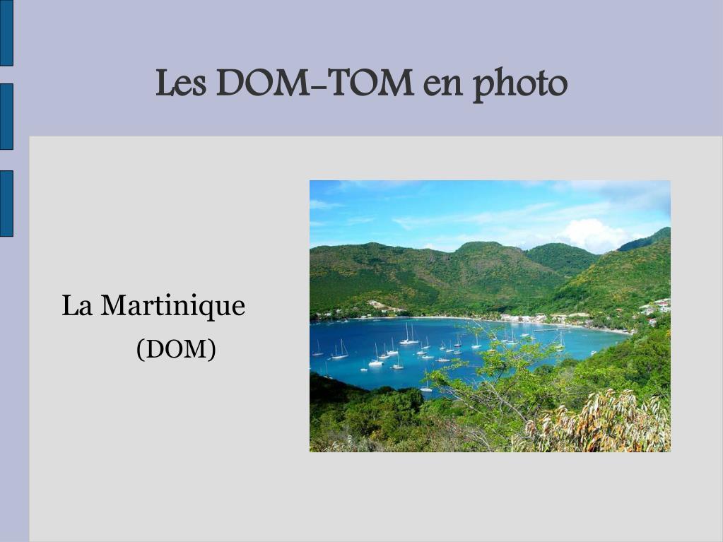 Les DOM-TOM en photo