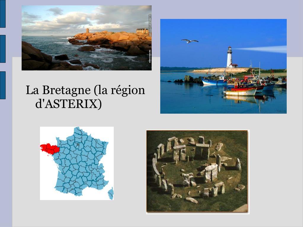 La Bretagne (la région d'ASTERIX)