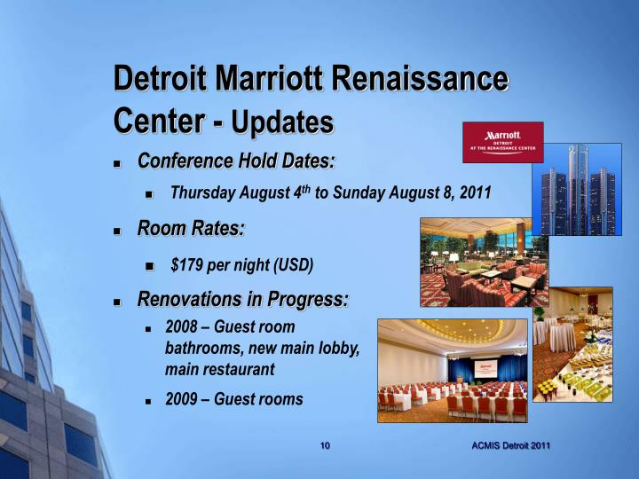 Detroit Marriott Renaissance Center -