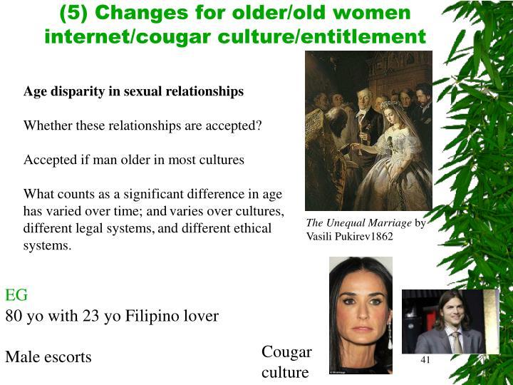 (5) Changes for older/old women
