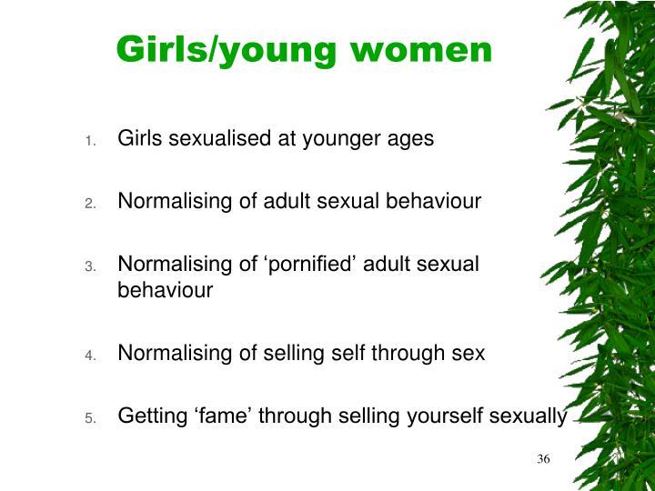 Girls/young women