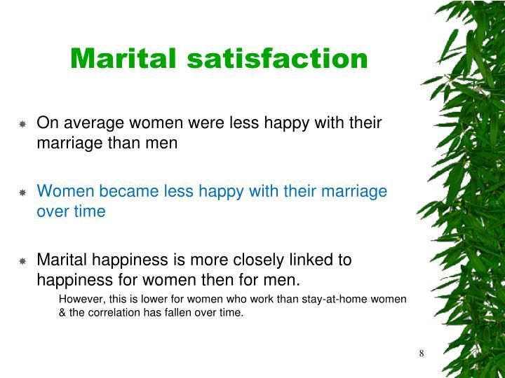 Marital satisfaction