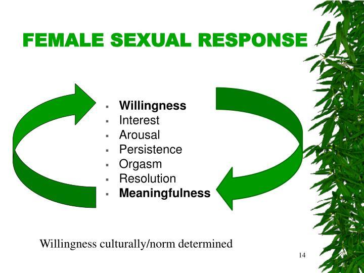 FEMALE SEXUAL RESPONSE