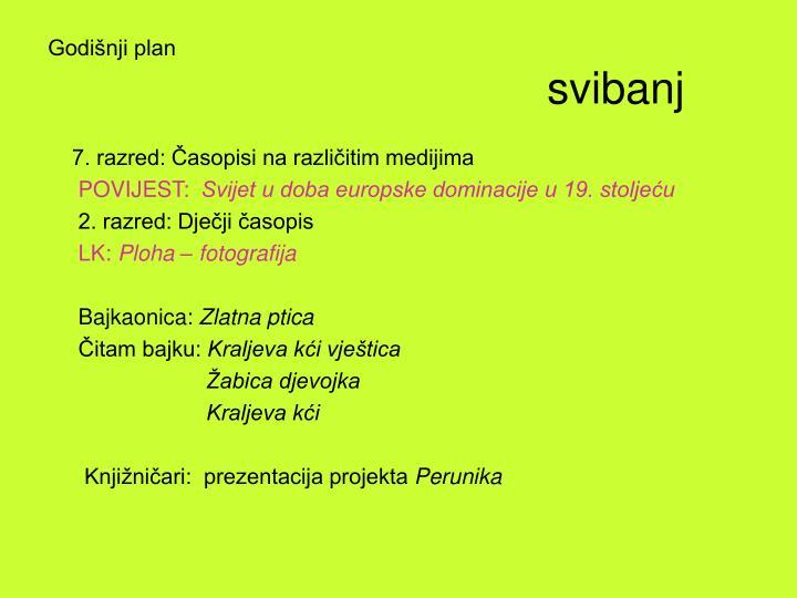 Godišnji plan