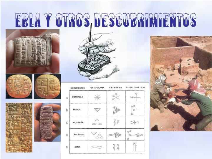 Ebla y otros descubrimientos