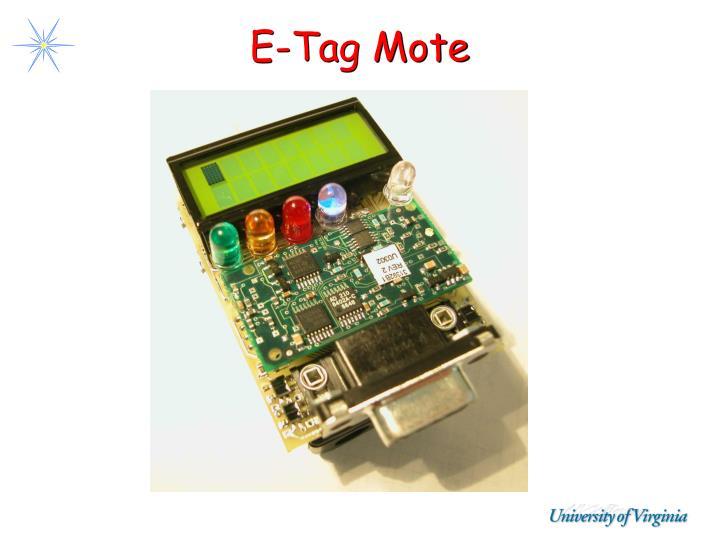 E-Tag Mote