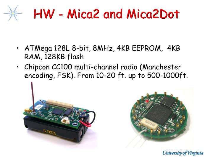 HW - Mica2 and Mica2Dot