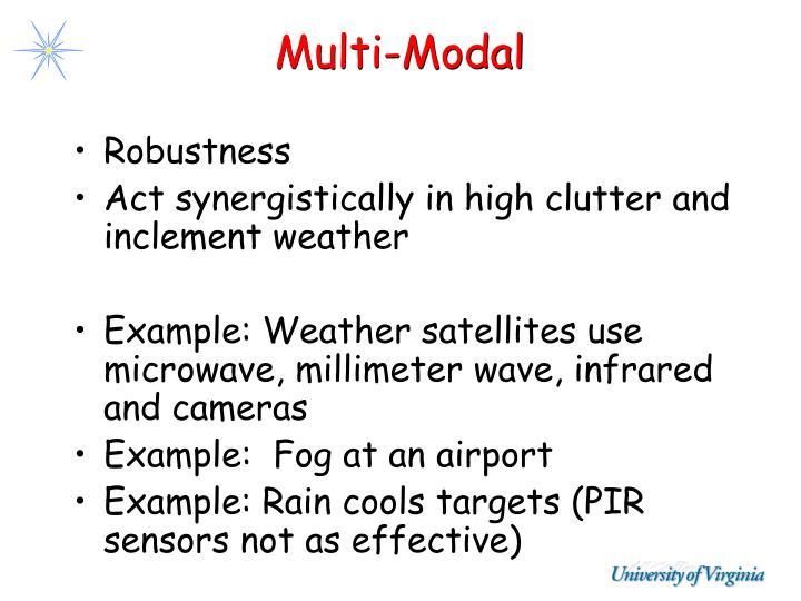 Multi-Modal