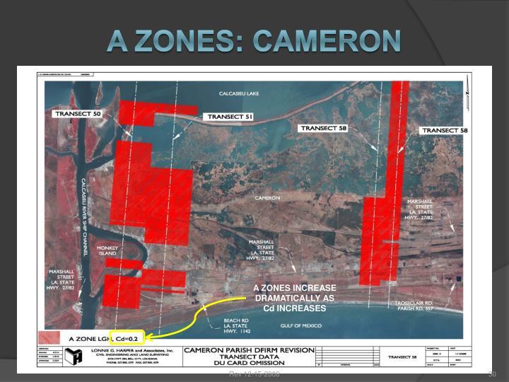 A ZONES: CAMERON