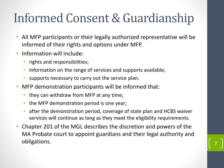 Informed Consent & Guardianship