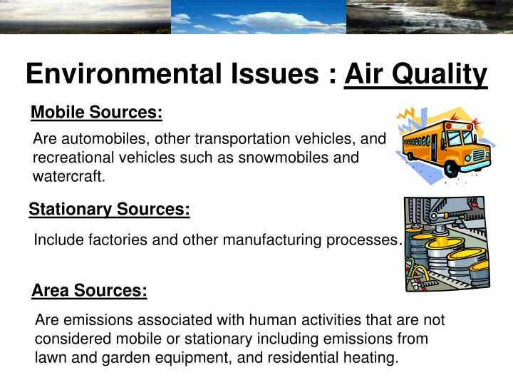 Environmental Issues :