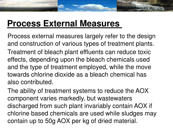 Process External Measures