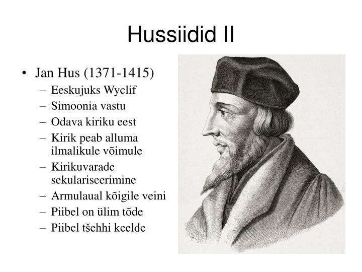 Hussiidid II