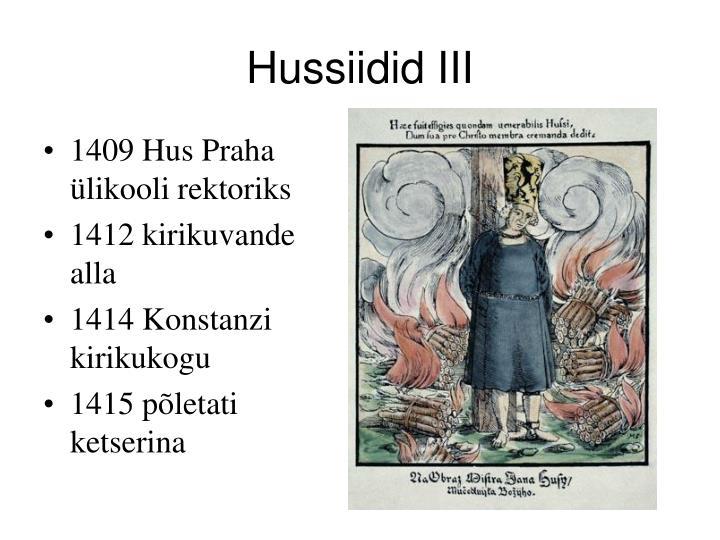Hussiidid III