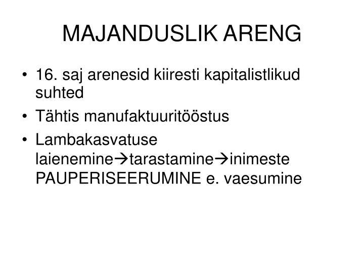 MAJANDUSLIK ARENG