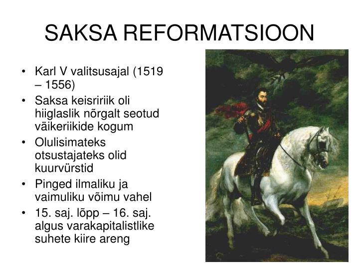SAKSA REFORMATSIOON