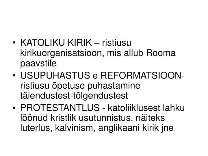 KATOLIKU