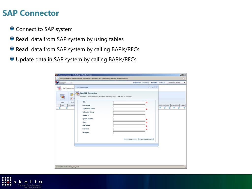 SAP Connector