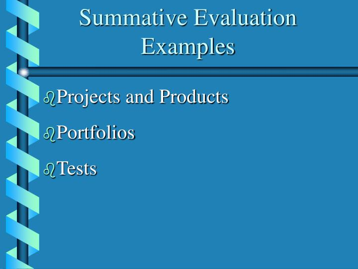 on the relationship between assessment for formative and summative purposes