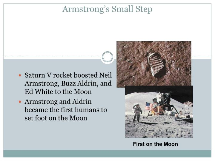 Armstrong's Small Step